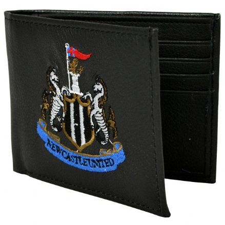 Newcastle United Embroidered PU Leather Wallet